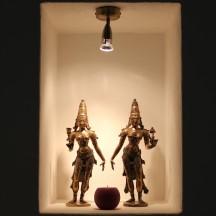 Bhudevi and Sridevi by Cornelis